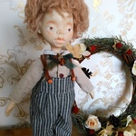 新作 handmade doll  No.035