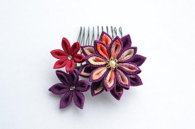 timami*赤紫 コーム