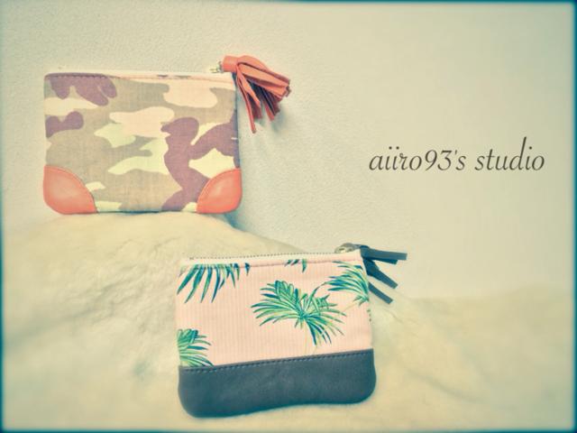 mini pouch / オレンジ