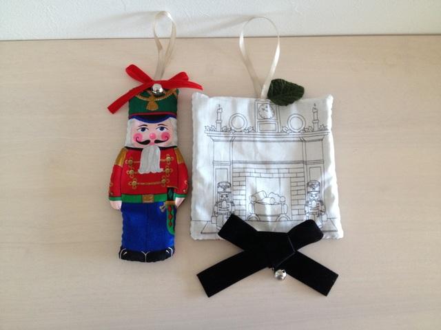 クリスマスオーナメント・くるみ割り人形《2コセット♪》