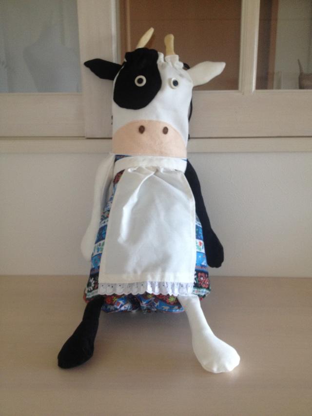 牛さんのレジ袋ストッカー