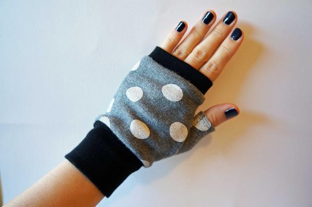 指なし手袋 ゆきぐも