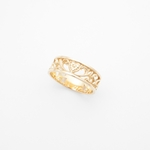 arabesque ring / gold