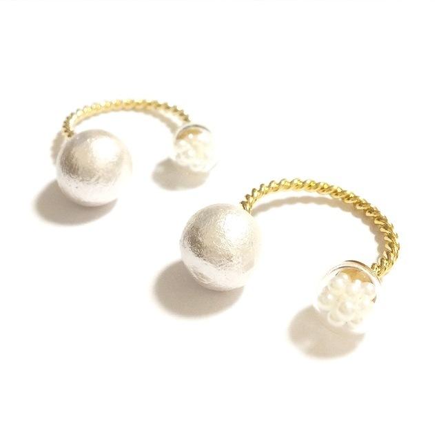 ������̵���ۺ���! Twin pearl Ring��F��������