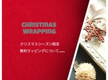 ☆Christmasシーズン限定【無料ラッピング】☆*・゚