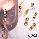 【knz4076psgr】【6個】  zipper head pierce parts