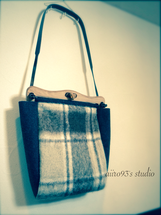 shoulder bag / check��