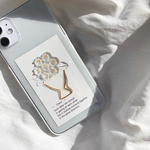 bouquet gold iPhoneケース iPhone11 iPhoneXR iPhoneXs iPhone11pro iPhone12 iPhone12pro iPhone12mini