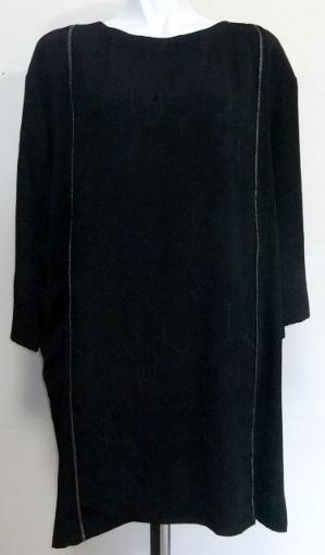 着物リメイク 地模様入りの羽織で作ったチュニック826