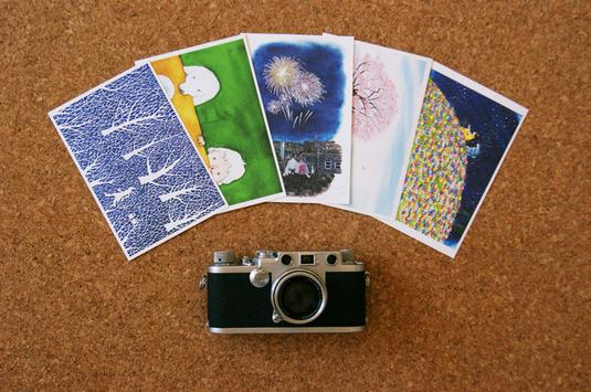 Post card 5枚セット