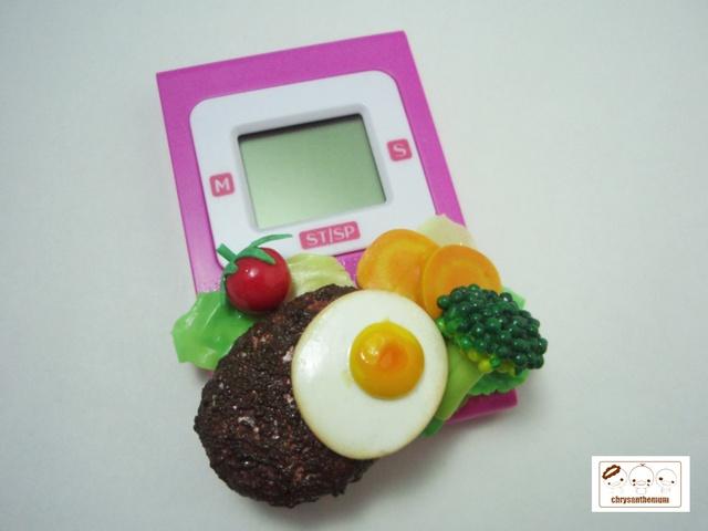 【値下げ】美味しそうなキッチンタイマー 〜ハンバーグ〜