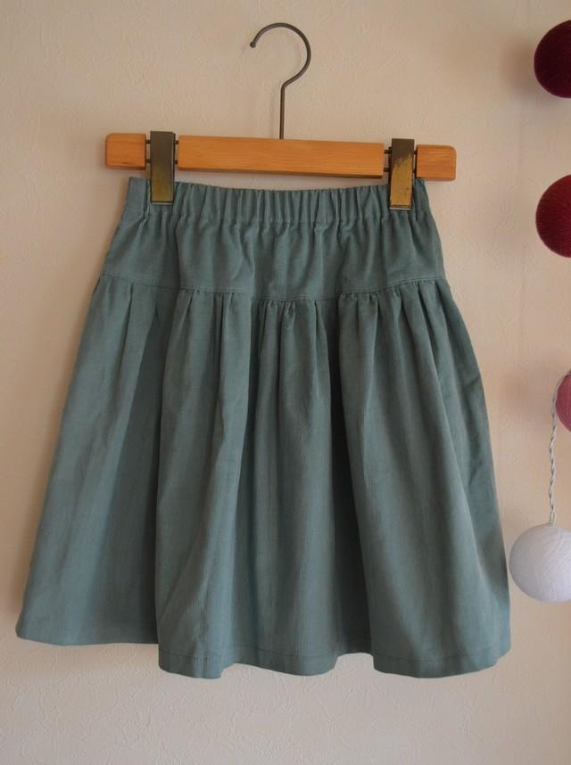130-140サイズ 切替ふんわりスカート for girls