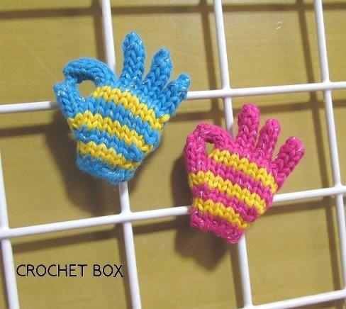 【再販】 ミニ手袋マグネット OKサイン