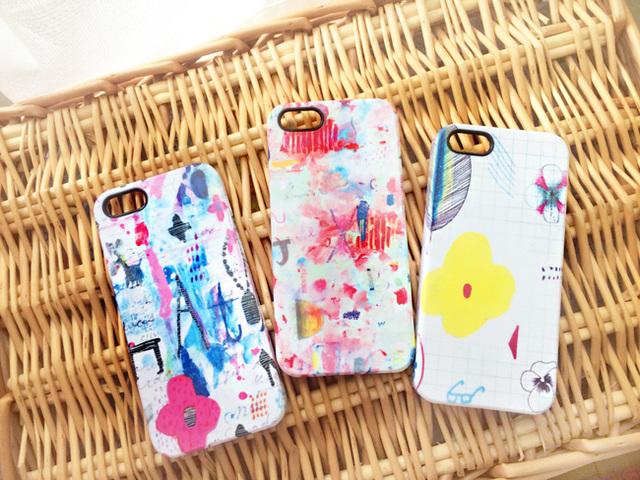 絵の具で描いたようなiPhoneケース???8種類
