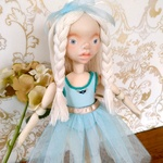 バレエ少女 handmade doll  No.037