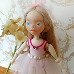バレエ少女 handmade doll  No.038