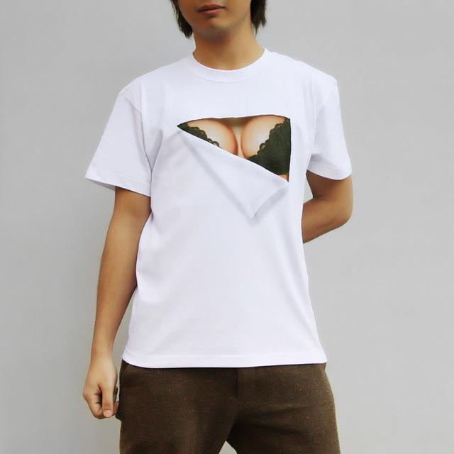 【在庫限り】妄想マッピング -黒いブラTシャツ-(半袖)