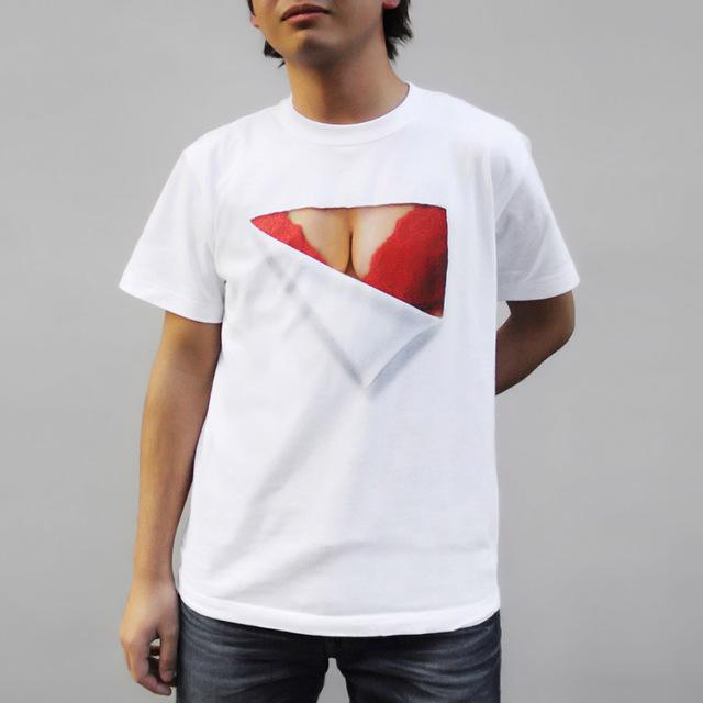 【在庫限り】妄想マッピング -赤いブラTシャツ-(半袖)