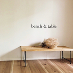 bench & table