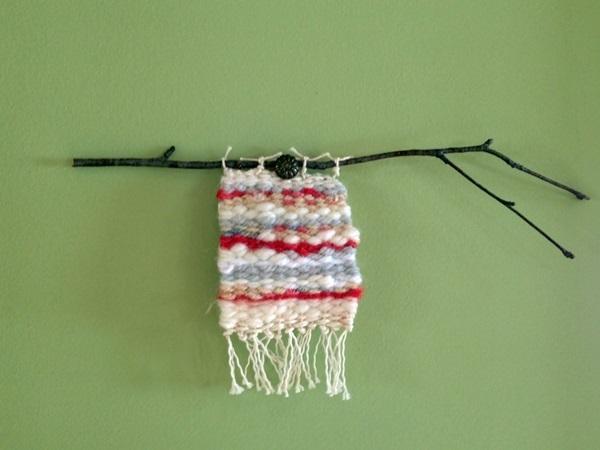 織の小さな タペストリー