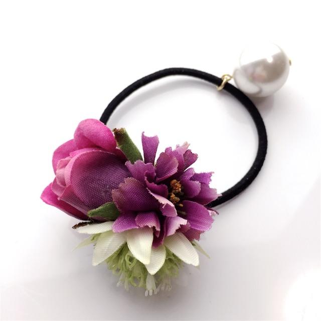 ��sale��hair elastic?petit bouquet?no.1