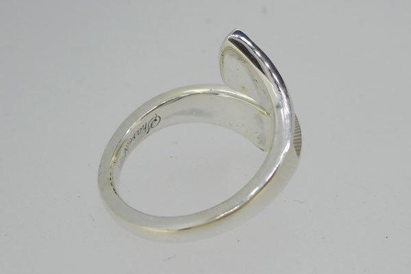 SHAREKI エポキシ樹脂粘土 レジン オリジナルアクセサリーパーツ シルバー925 リングパーツ 指輪 (リング)