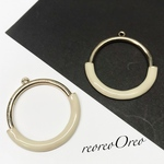 ring  charm beige