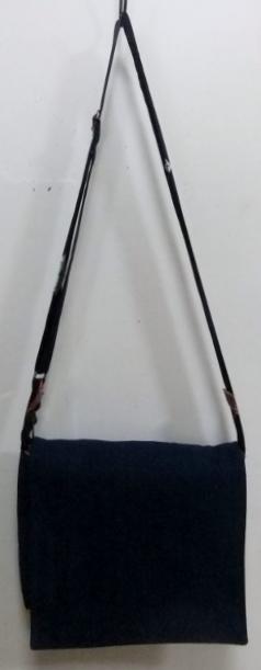 着物リメイク 藍のお布団側で作ったショルダーバック853