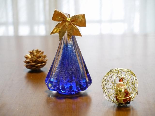 ガラスのX'mas Tree(Blue)