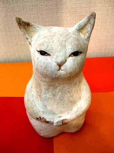 陶猫☆桜満開