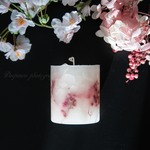 「Early spring」 Botanical candle  ≪受注制作≫