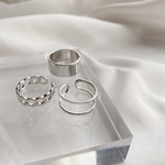 【sale】silver ring set