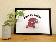 B4ポスター「COFFEE BREAK」