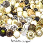 数量限定✨10個入) Petite button  happy pack