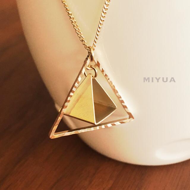 さんかく 三角 ネックレス