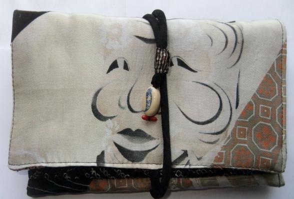 着物リメイク 帯で作った和風財布 867