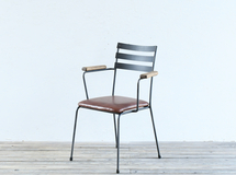 BASIC ARMCHAIR / Leather Seat チェア・イス