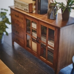 【送料無料】Mindy Wood Cabinet W1200