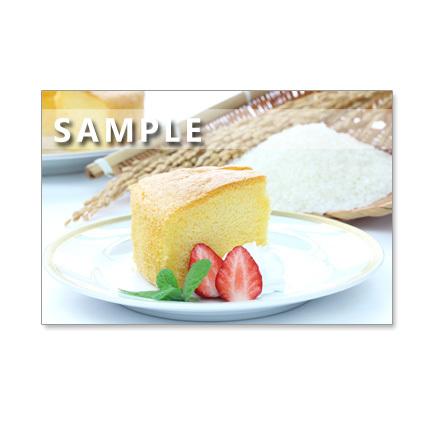 1022)ポストカード5枚組 楽しいお菓子作り、美味しいティータイム