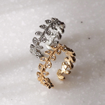 2way earcuff ring _COROLLA   /片耳イヤーカフ/gold or silver