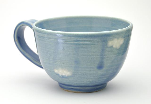 空模様のたっぷりカップ