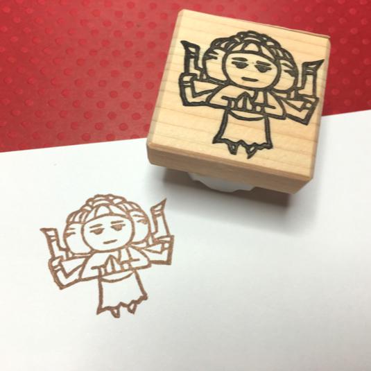 阿修羅はんこ【送料込】