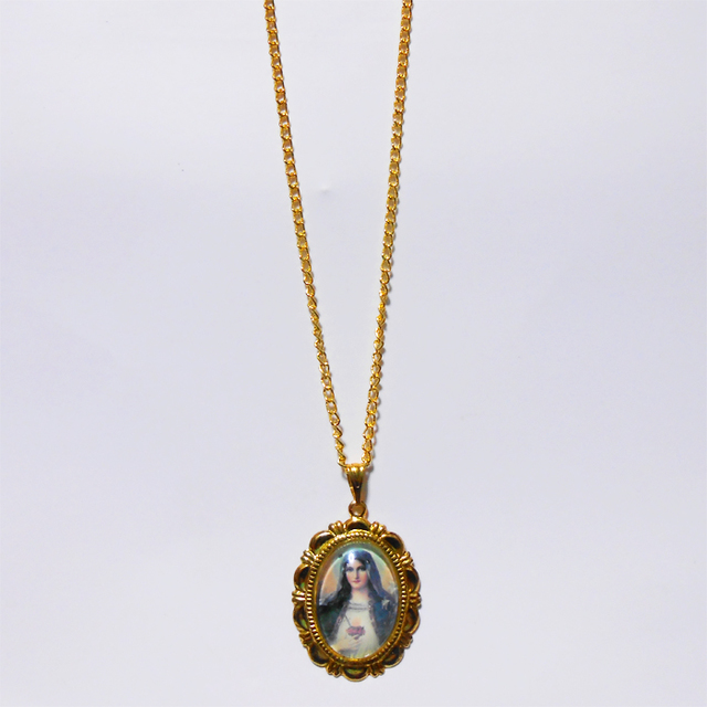 聖母マリア様のネックレス-2