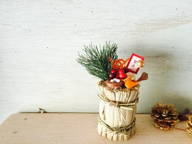俵飾り お正月☆希望の卵