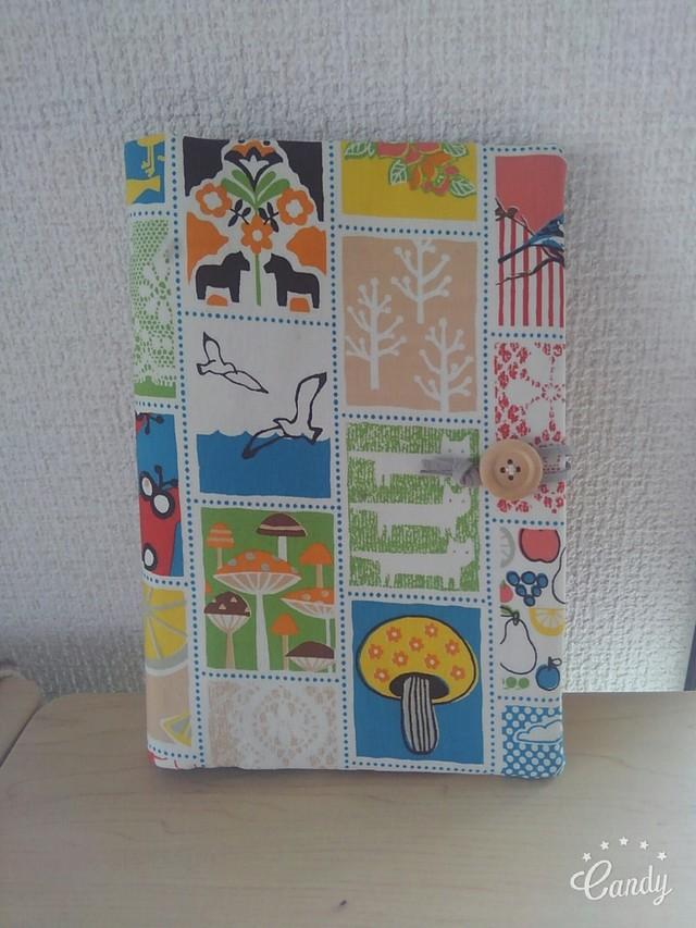 イロイロな北欧風模様母子手帳ケース