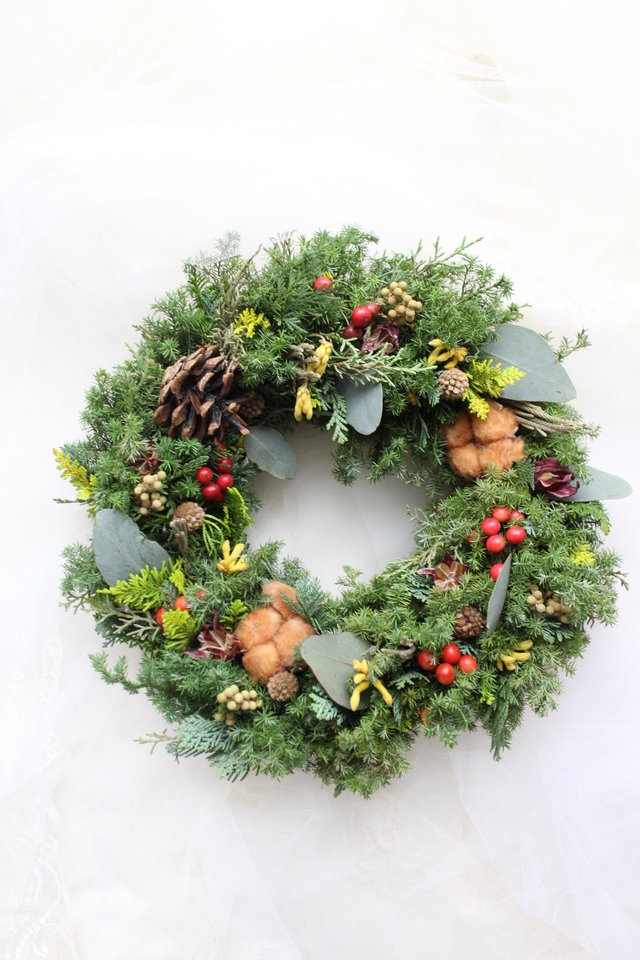 kaoringo-goさまご予約商品  wreath #123