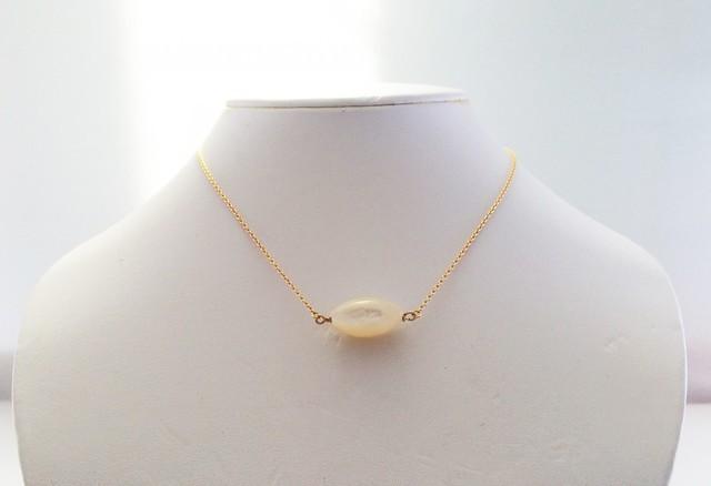 真珠貝 K14GF ◇人魚姫のネックレス