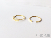 【2set】2way thin ring