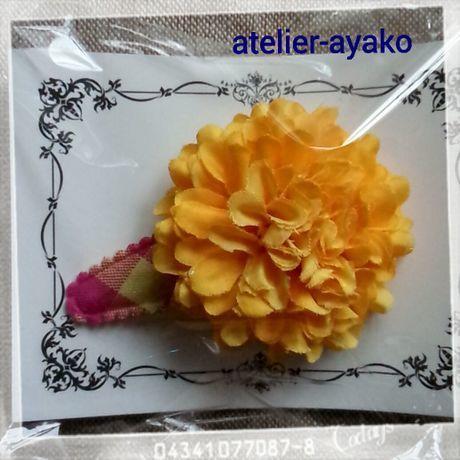新春送料☆彡73 お花のパッチンピン