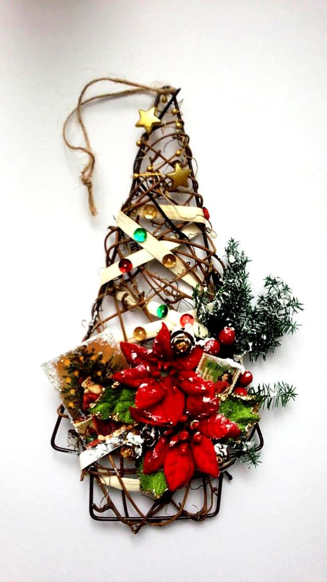 クリスマス コラージュツリー